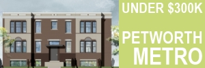 Petworth Metro - Under $300K