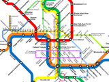 Greater Greater Washington's DC Metro-Circulator Map
