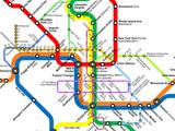 Greater Greater Washington's DC Metro-Circulator Map