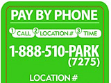 DC Testing Parking Payment Methods