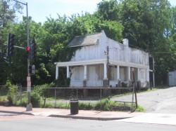 Abandoned home on MLK Ave