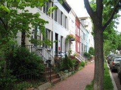 Beautiful Dupont rowhouses