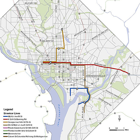 The Full DC Streetcar Routes Explained: Figure 2