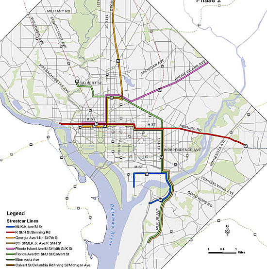 The Full DC Streetcar Routes Explained: Figure 3