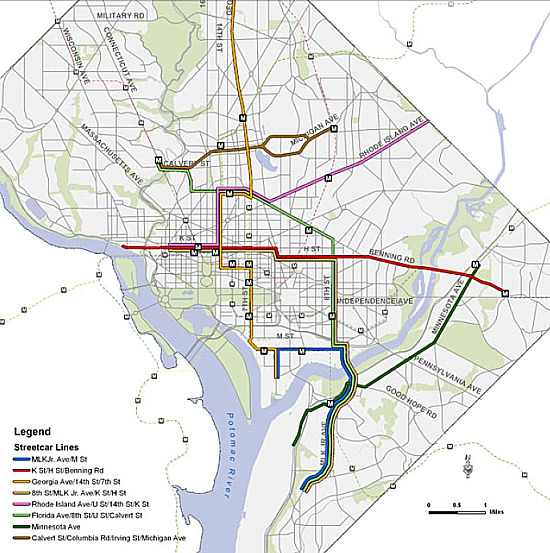 The Full DC Streetcar Routes Explained: Figure 4