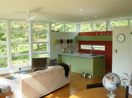 Unique Spaces: Modern Tranquility in Sperryville: Figure 3