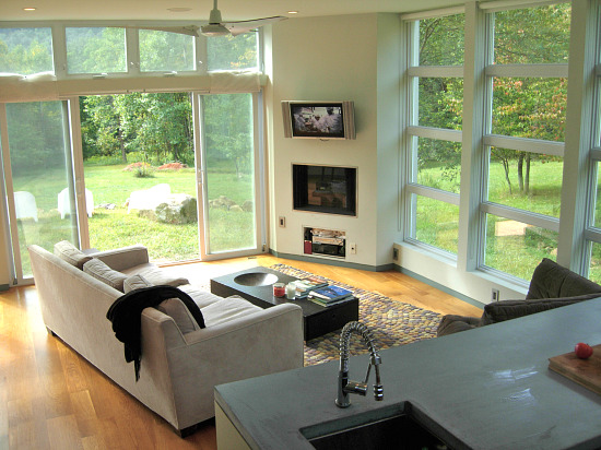 Unique Spaces: Modern Tranquility in Sperryville: Figure 2