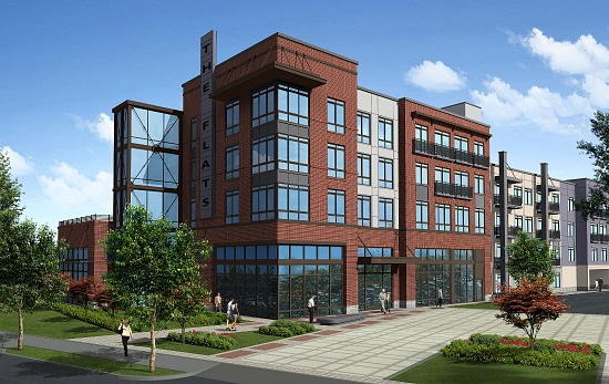 Huge H Street Corridor Apartment Complex Breaks Ground