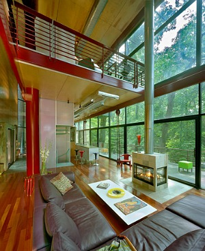 Architect Travis Price Lists Unique Rock Creek Park Home: Figure 2