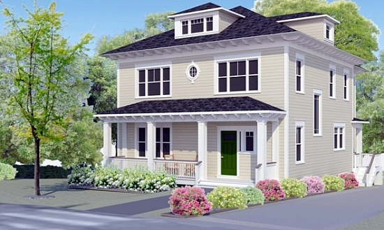 This Week's Find: The DC Area's First Passive Design House: Figure 1