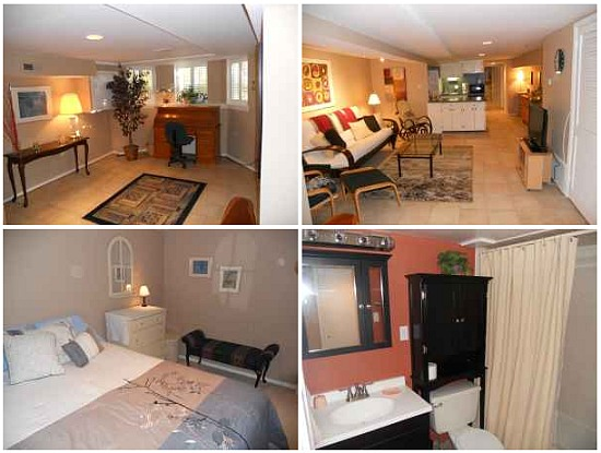 fully furnished one bedroom apartment in capitol hill