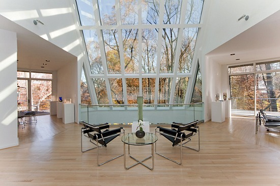 This week s find the glass house in forest hills What is an atrium in a house