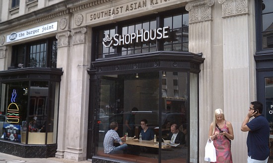 Neighborhood Eats: Shophouse Opens, New Beer Arrives, Cheesesteaks On Their Way: Figure 1