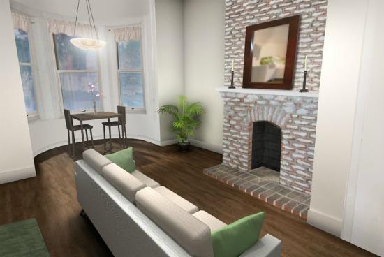 Re-imagined: A U Street Row House: Figure 3