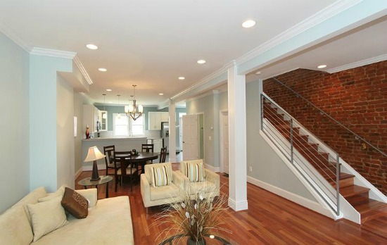Best new listings the corridors and barracks row for Interior design in row house