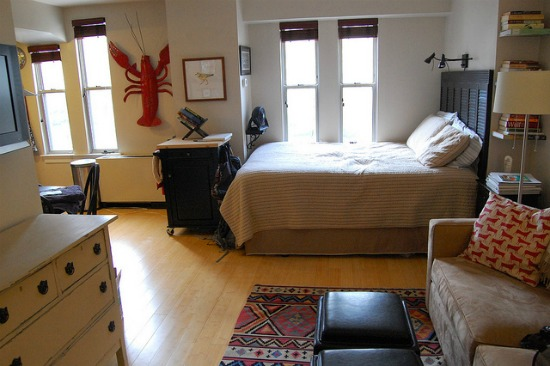 Making a home in less than 360 square feet How to decorate a 400 sq ft studio apartment