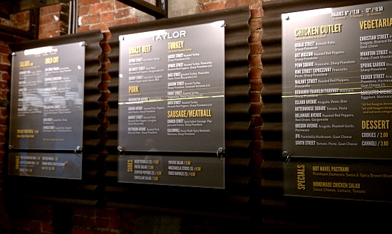Taylor Gourmet S 14th Street Location Opens Its Doors
