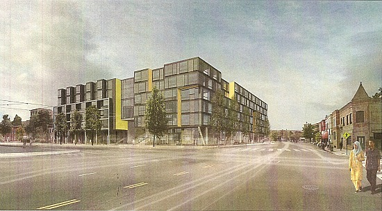 New Renderings for JBG's Florida Ave. Project; Reatig Redesign: Figure 3