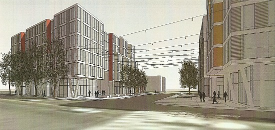 New Renderings for JBG's Florida Ave. Project; Reatig Redesign: Figure 4