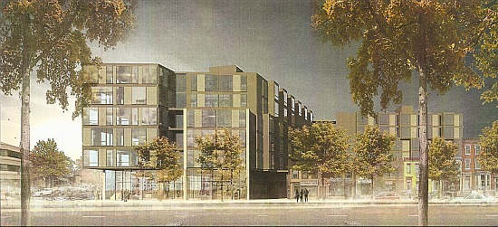 New Renderings for JBG's Florida Ave. Project; Reatig Redesign: Figure 1
