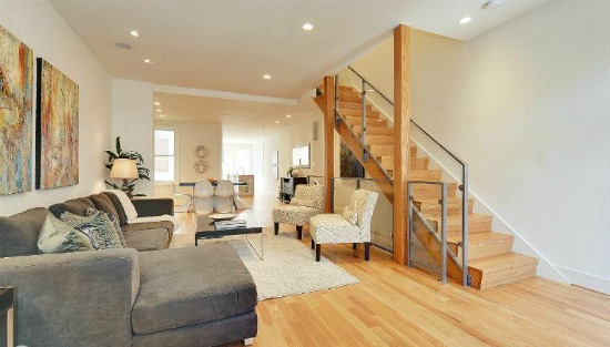 This Week S Find Breezy Contemporary Interior In A Capitol Hill Row House