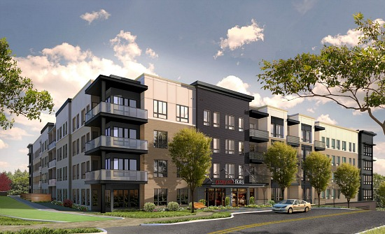 Arlington's Grayson Flats Breaks Ground: Figure 1