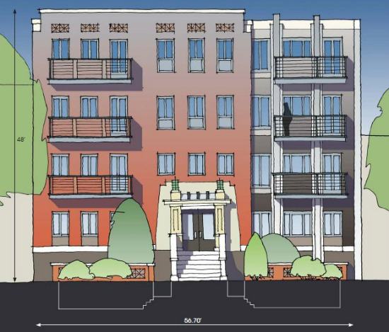 Condo Central? A 24-Unit Residential Project Planned For Shaw: Figure 1