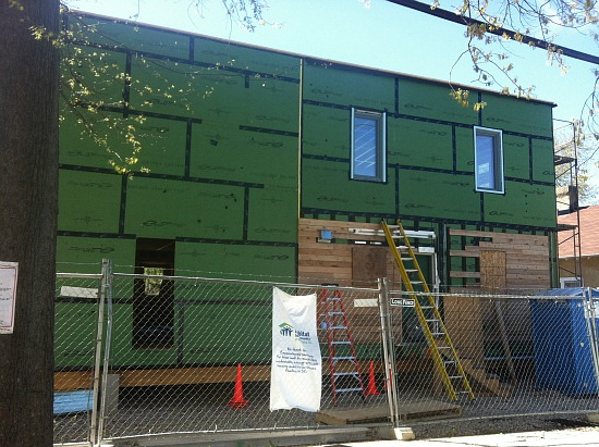 DC's First Passive House Almost Complete: Figure 3