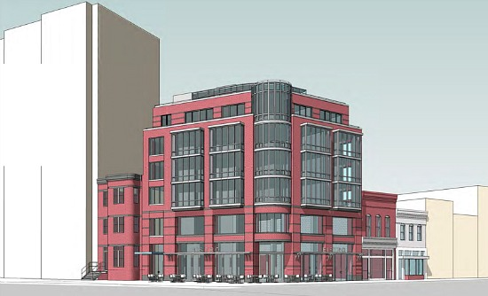 New 30-Unit Abdo Project on 14th Street Will Be Rentals: Figure 1