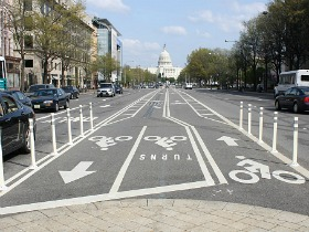 DC's Plan For More Protected Bike Lanes: Figure 1