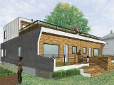 DC's First Passive House Almost Complete
