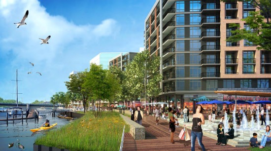 Updates on Riverfront on the Anacostia, Canal Park: Figure 3