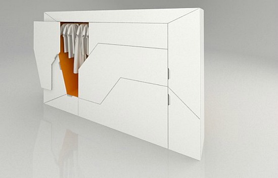 Bedroom in a Box: A Futuristic Murphy Bed: Figure 2