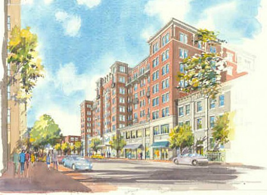 ANC 1B Design Committee Approves Concept for 135-Unit 13th Street Project: Figure 1