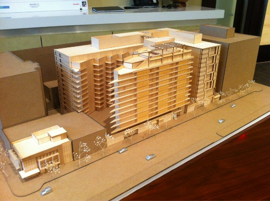 292-Unit Residential Project Near Nats Stadium Could Start in 2013: Figure 1