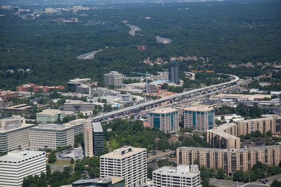 A Bird's Eye View of Tysons Development: Figure 1