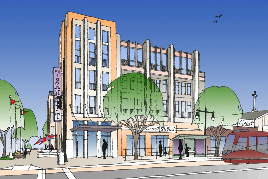 6 Proposals for H Street Library Redevelopment: Figure 6