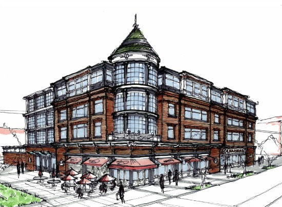6 Proposals for H Street Library Redevelopment: Figure 7