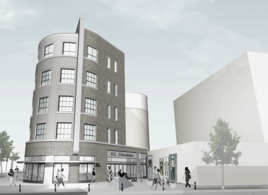 6 Proposals for H Street Library Redevelopment: Figure 5