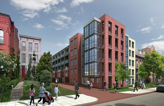 Renderings Released For Shaw's Blagden Alley Residences: Figure 1