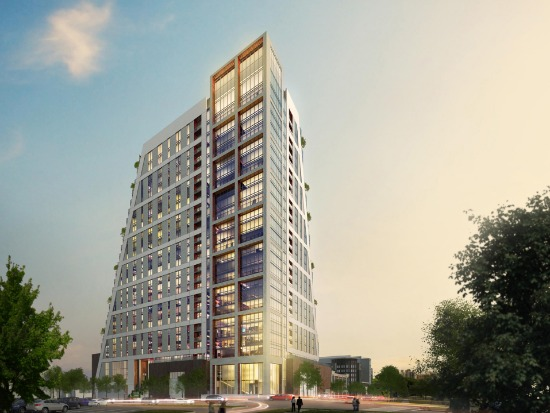 Renderings Released of Montgomery County's Tallest Residences: Figure 1