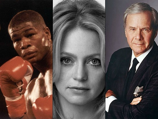 New Bigwigs: Tom Brokaw, Goldie Hawn & Riddick Bowe: Figure 1