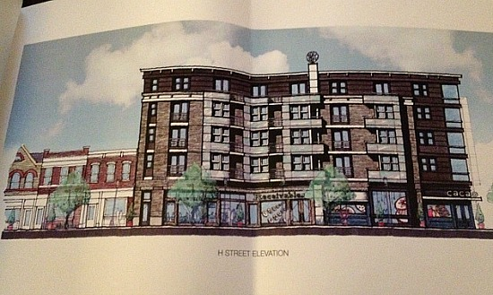 Jair Lynch Plans 48-Unit Residential Project For H Street Corridor: Figure 1