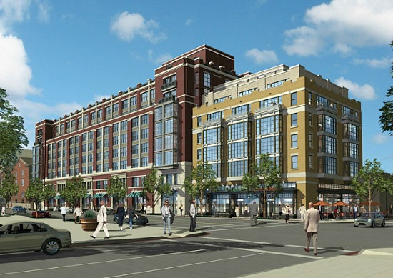 360˚ H Street To Begin Leasing This Month, Giant Open By May: Figure 1
