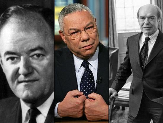 New Bigwigs: Colin Powell, Donald Hornig & Hubert Humphrey: Figure 1