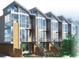 Solar Townhomes South of H Street to Deliver in March 2015