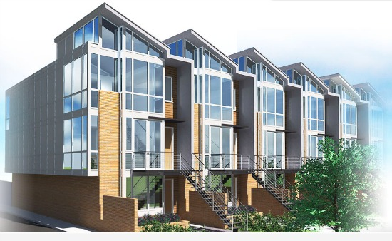 Solar Townhomes South of H Street to Deliver in March 2015: Figure 1