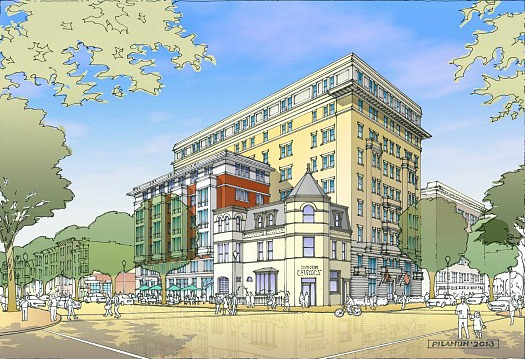 80-Unit Condo Project Coming to 11th and M Street: Figure 1