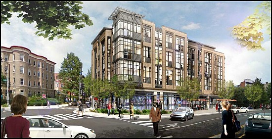 New Animation Gives Size and Scope of Adams Morgan Condo Project: Figure 1