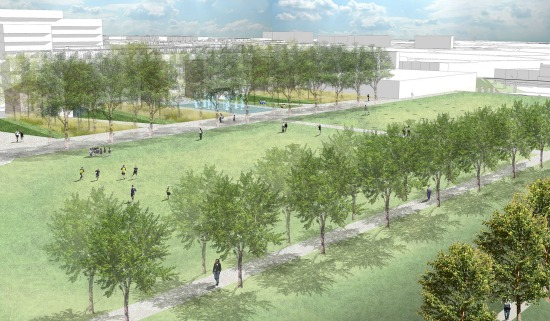 DC's Central Park? A New Rendering of McMillan's Planned Park: Figure 2